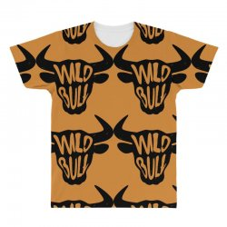 wild bull All Over Men's T-shirt | Artistshot