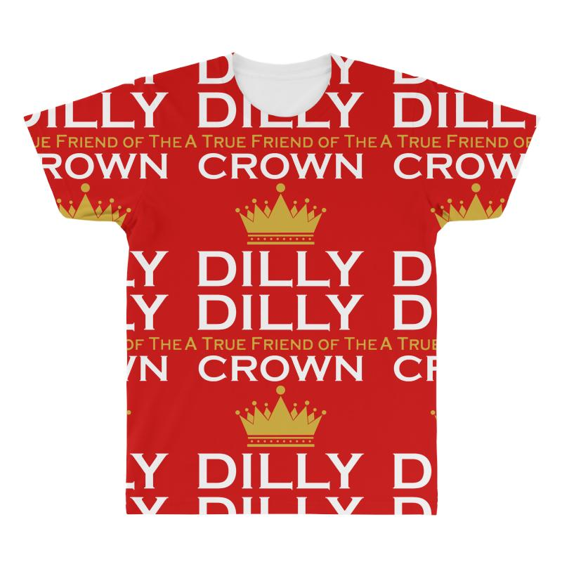 39796b4e Custom Dilly Dilly A True Friend Of The Crown All Over Men's T-shirt By  Tshiart - Artistshot