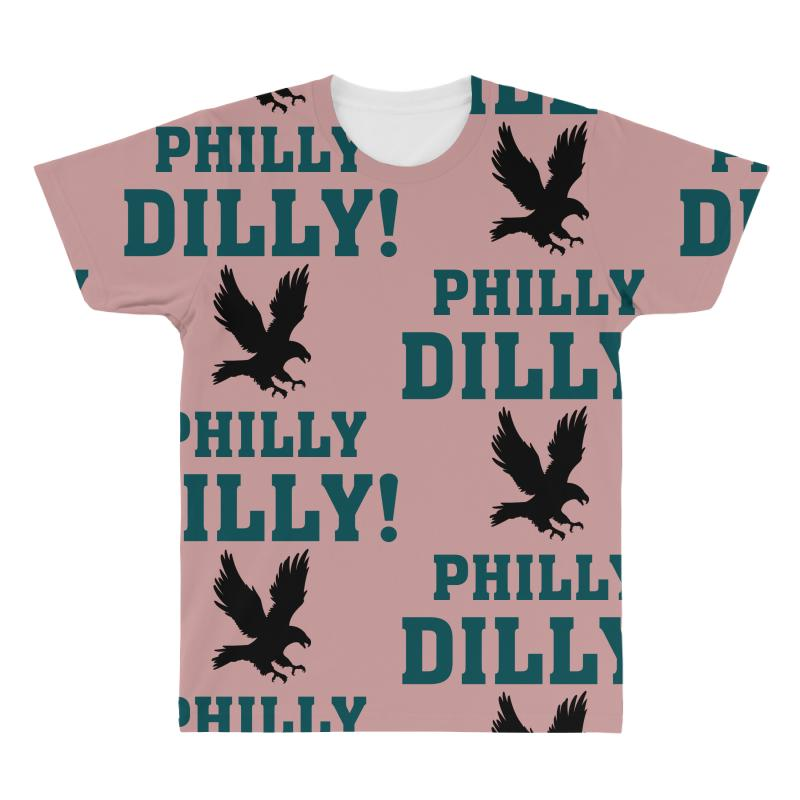 25eed968 Custom Philly Dilly All Over Men's T-shirt By Tshiart - Artistshot