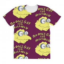 no one's gay for moleman All Over Women's T-shirt | Artistshot