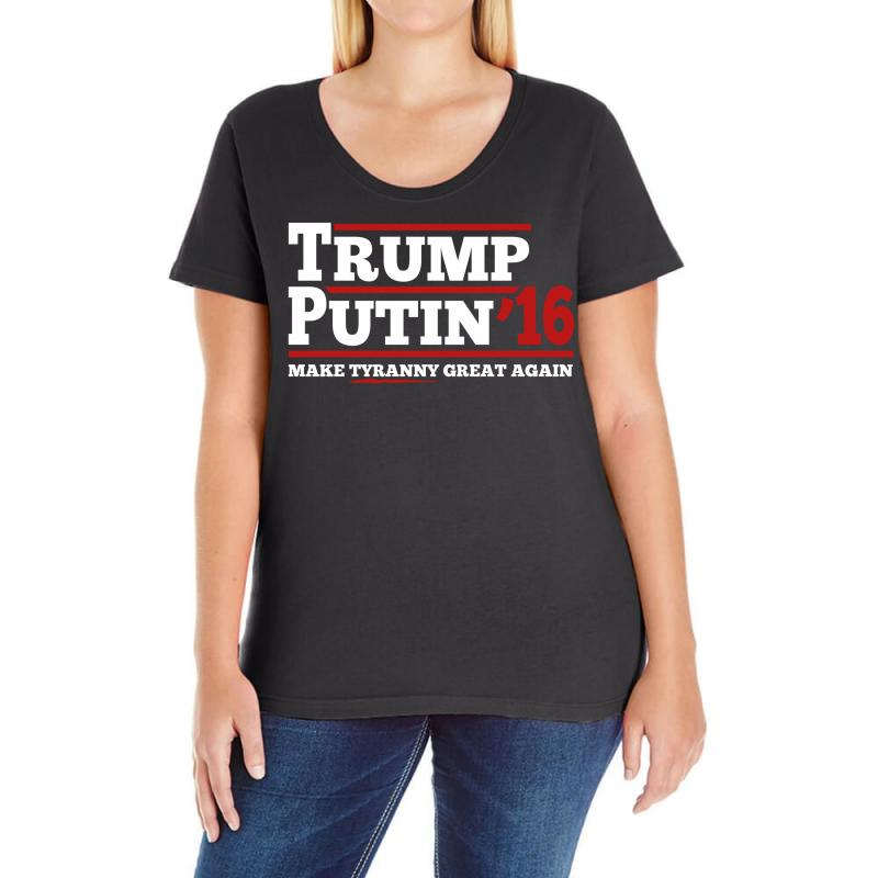 Trump Putin 2016 Ladies Curvy T-shirt | Artistshot