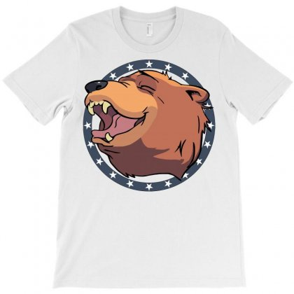 Cheeseburger! The Bear In Far Cry 5 T-shirt Designed By Mdk Art
