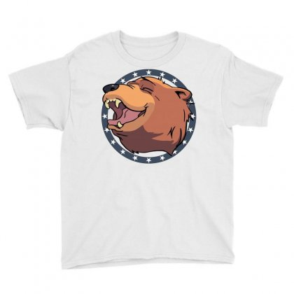 Cheeseburger! The Bear In Far Cry 5 Youth Tee Designed By Mdk Art