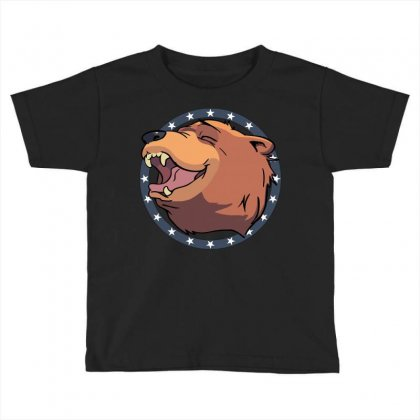 Cheeseburger! The Bear In Far Cry 5 Toddler T-shirt Designed By Mdk Art