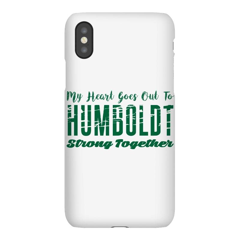 My Heart Goes Out To Humboldt Strong Together Iphonex | Artistshot