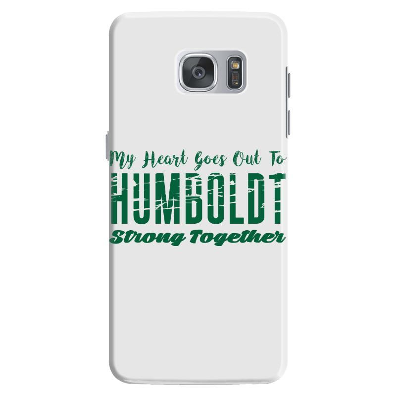 My Heart Goes Out To Humboldt Strong Together Samsung Galaxy S7 Case | Artistshot