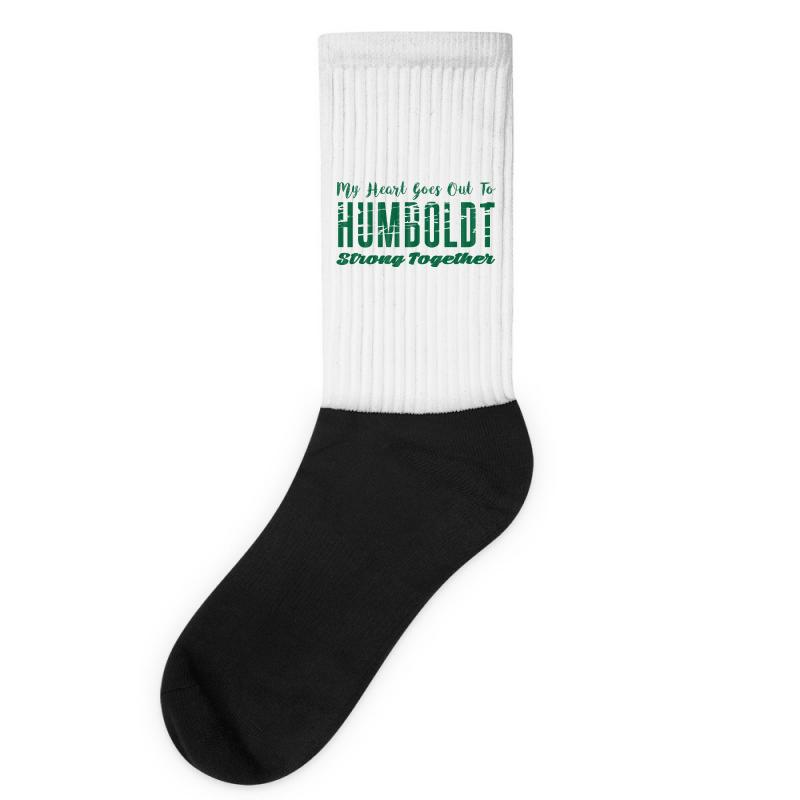 My Heart Goes Out To Humboldt Strong Together Socks | Artistshot