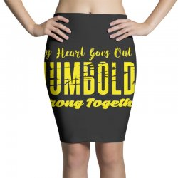My Heart Goes Out To HUMBOLDT Strong Together Pencil Skirts | Artistshot