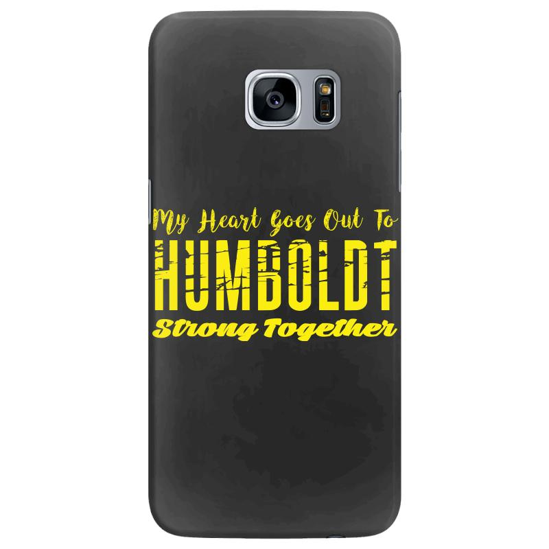 My Heart Goes Out To Humboldt Strong Together Samsung Galaxy S7 Edge Case | Artistshot
