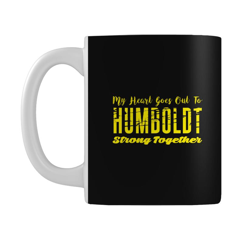 My Heart Goes Out To Humboldt Strong Together Mug | Artistshot