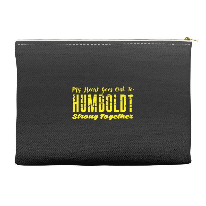 My Heart Goes Out To Humboldt Strong Together Accessory Pouches | Artistshot