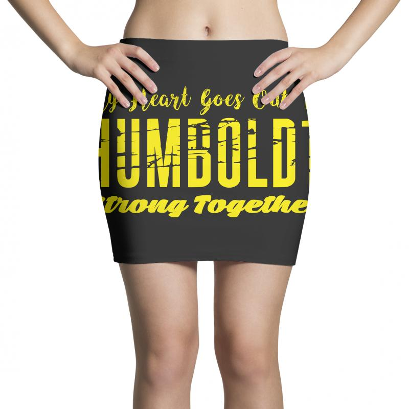 My Heart Goes Out To Humboldt Strong Together Mini Skirts | Artistshot