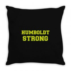 Humboldt Strong Throw Pillow | Artistshot