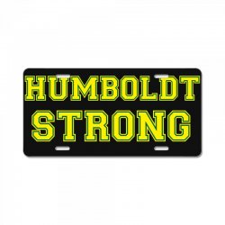 Humboldt Strong License Plate | Artistshot
