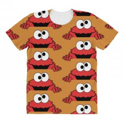 elmo3c All Over Women's T-shirt | Artistshot