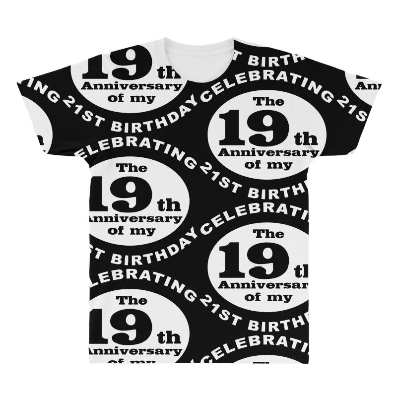 Funny 40th Birthday All Over Mens T Shirt