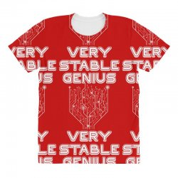 Very Stable Genius All Over Women's T-shirt | Artistshot