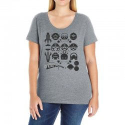 Out Space Ladies Curvy T-Shirt | Artistshot