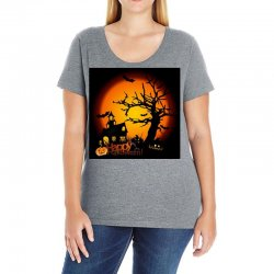 Happy Halloween Ladies Curvy T-Shirt | Artistshot