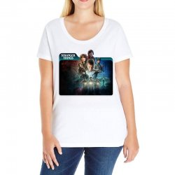 stranger things 01 Ladies Curvy T-Shirt | Artistshot