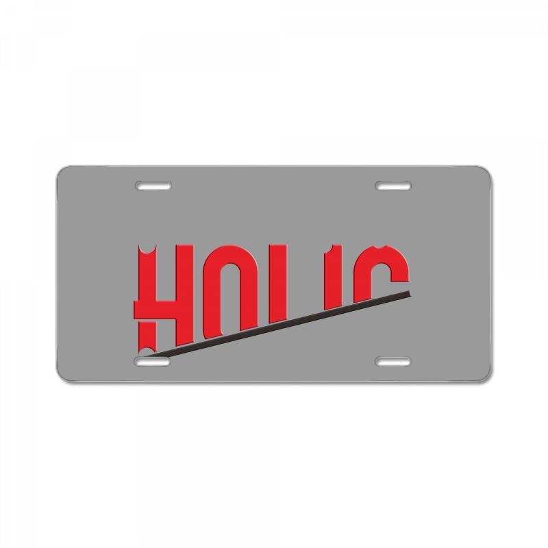 Holic License Plate | Artistshot