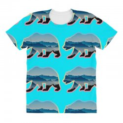 wild bear All Over Women's T-shirt | Artistshot