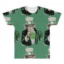 st patricks day  uncle sam All Over Men's T-shirt | Artistshot
