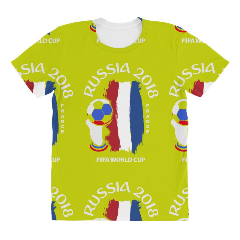 france national team youth 2018 fifa world cup All Over Women s T-shirt b05f5b19fb