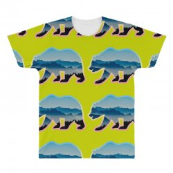 wild bear All Over Men's T-shirt | Artistshot