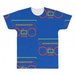 a tribe called quest   speaker hip hop the cutting edge All Over Men's T-shirt | Artistshot