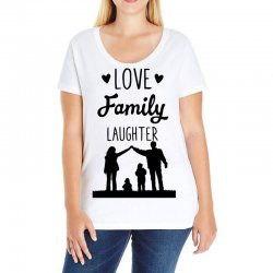 love family laughter Ladies Curvy T-Shirt | Artistshot