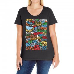 funny john lennon imagine quote Ladies Curvy T-Shirt | Artistshot