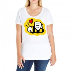 love bee lover valentine Ladies Curvy T-Shirt | Artistshot