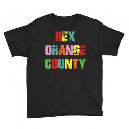 Rex Orange County - Colors Youth Tee Designed By Sabriacar