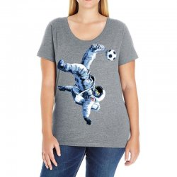 """buzz aldrin"" always sounded like a sports name Ladies Curvy T-Shirt 