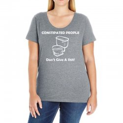 constipated people Ladies Curvy T-Shirt | Artistshot