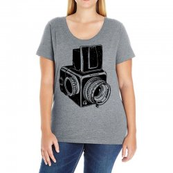 hasselblad vintage camera Ladies Curvy T-Shirt | Artistshot