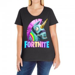 fortnite unicorn Ladies Curvy T-Shirt | Artistshot