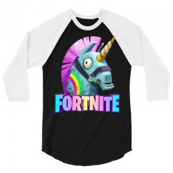 fortnite unicorn 3/4 Sleeve Shirt | Artistshot