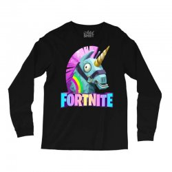 fortnite unicorn Long Sleeve Shirts | Artistshot