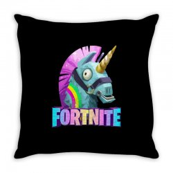 fortnite unicorn Throw Pillow | Artistshot
