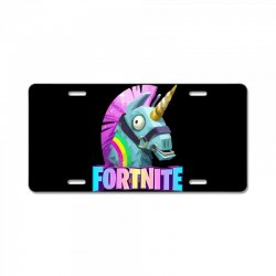 fortnite unicorn License Plate | Artistshot