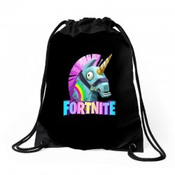 fortnite unicorn Drawstring Bags | Artistshot