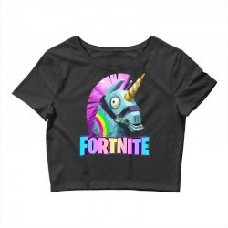 fortnite unicorn Crop Top | Artistshot