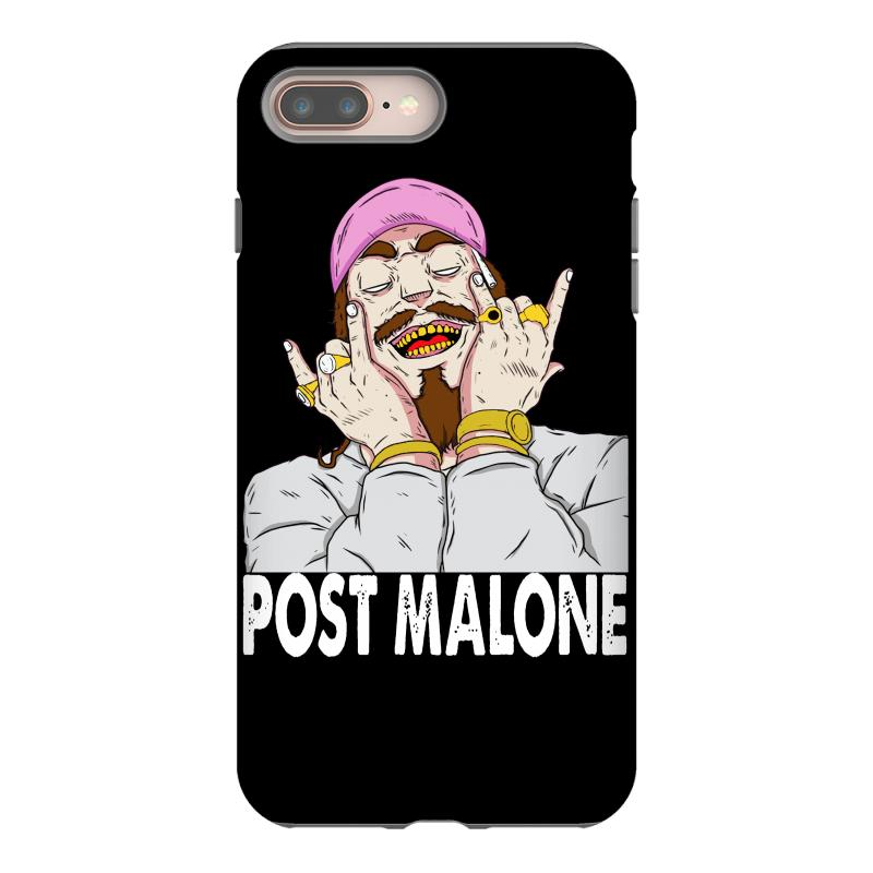 quality design 32a50 4134f Post Malone Iphone 8 Plus Case. By Artistshot