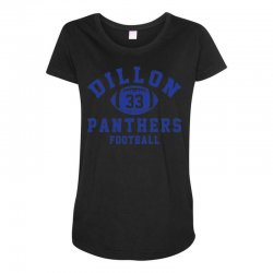 DILLON PANTHERS FOOTBALL Maternity Scoop Neck T-shirt | Artistshot
