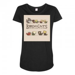 Lord Of The Cats Maternity Scoop Neck T-shirt | Artistshot