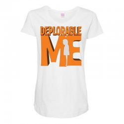 Deprolabe Me Maternity Scoop Neck T-shirt | Artistshot