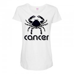 cancer Maternity Scoop Neck T-shirt | Artistshot
