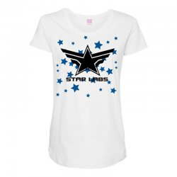 star labs Maternity Scoop Neck T-shirt | Artistshot